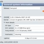 Sysinfo – Información del sistema en Ubuntu/Linux